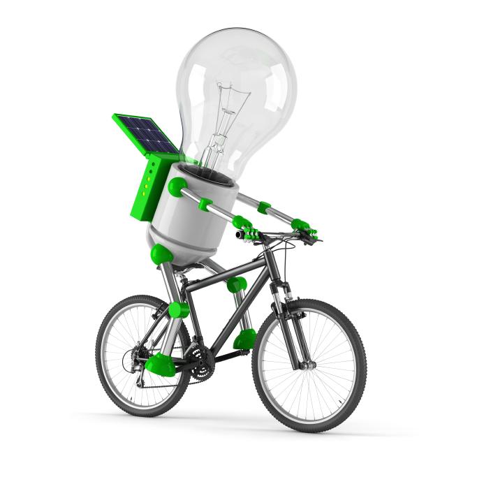 grøn teknologi - brug cyklen